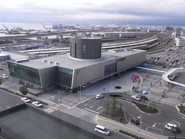 函館駅から徒歩でぶらぶら観光!...